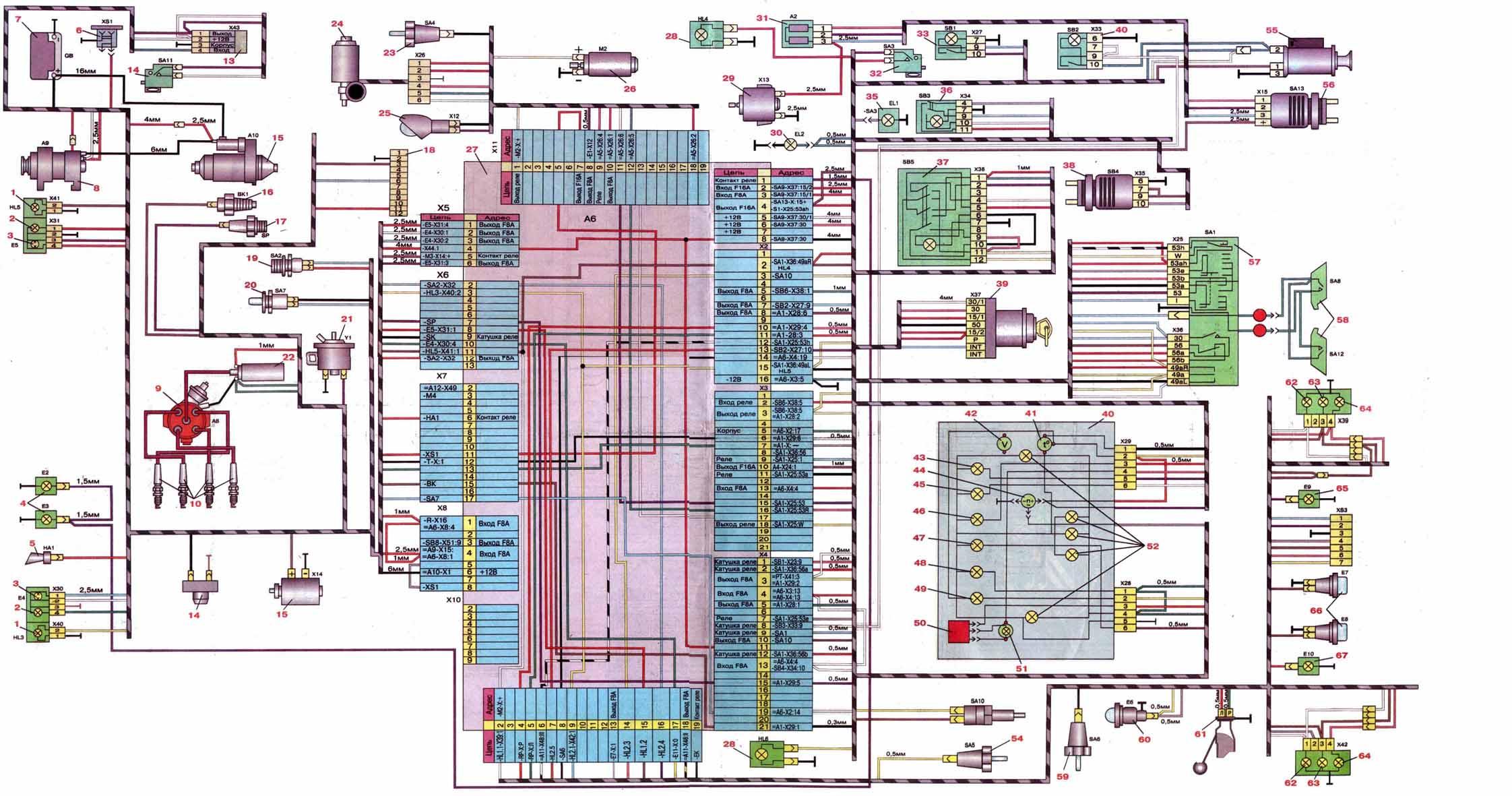 схема проводки на генераторе на святогоре