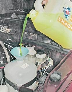 Фото №4 - замена тосола на антифриз ВАЗ 2110