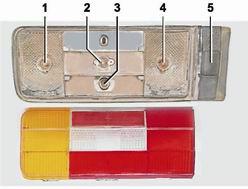 Как заменить лампочку освещения номерного знака