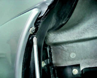 1411 - Установка задних подкрылок на ваз 2110
