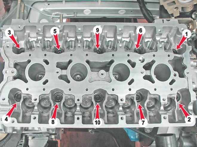 Замена прокладки гбц приора 16 клапанов