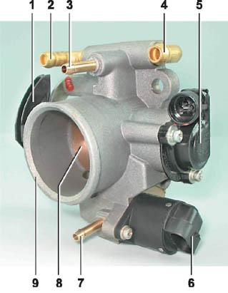 Схема бензопровода ваз 2110 инжектор