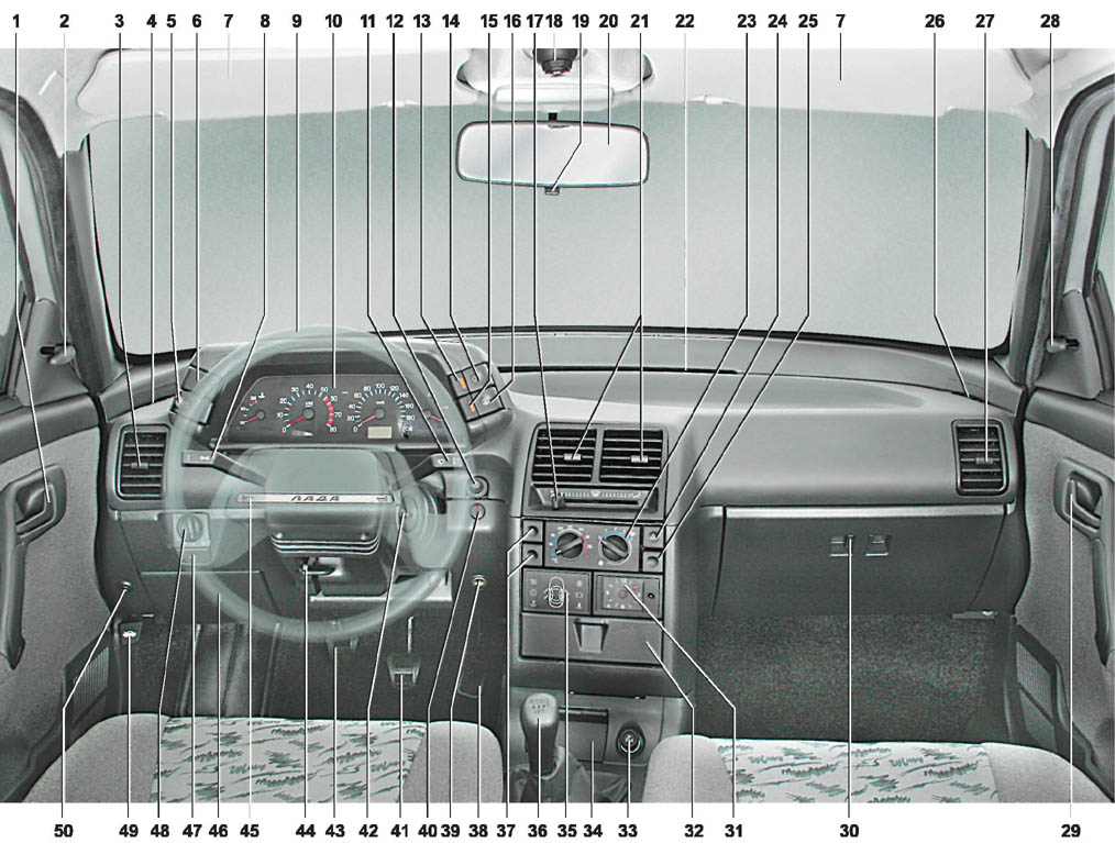 Фото №3 - панель управления ВАЗ 2110