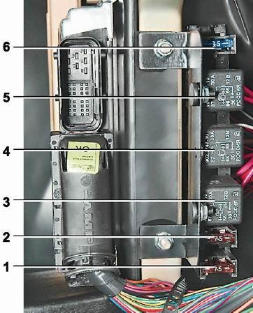 Где находиться реле вентилятор охлаждения ваз 2115 инжектор