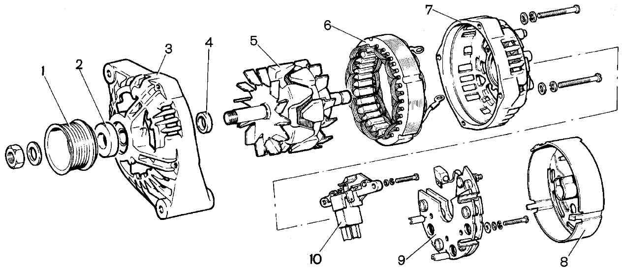 Фото №18 - размеры щётки генератора ВАЗ 2110